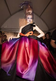 Magdalena Frackowiac Dior couture