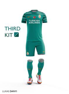 Galatasaray SK Football Kit 16 17. Uniformes De Futbol CompletosCamisetas  ... f8d6065cb8023