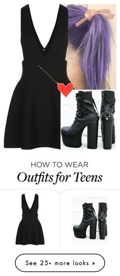 """Untitled #8941"" by carmellahowyoudoin on Polyvore featuring New Look, Current Mood and First People First"