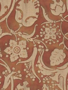 Persepolis in copper & silvery gold #fortuny: http://fortuny.com/Fabrics.aspx#7c581199-d835-49f8-a284-0f53afc41e19  Follow Fortuny on Pinterest! pinterest.com/fortuny