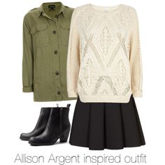 """Allison Argent inspired outfit/Teen Wolf"" by tvdsarahmichele on Polyvore"