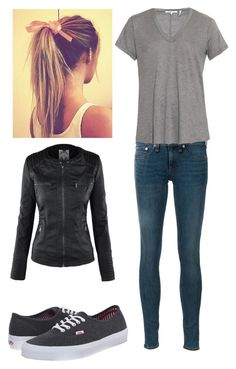 """""""other day in paradise"""" by bubble-loves-you ❤ liked on Polyvore featuring rag & bone, Helmut Lang and Vans"""