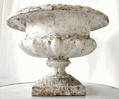 Highly desirable antique French 19thC Cast Iron Planter - Highly desirable antique French 19thC - available in-store now www.pure-provenance.com