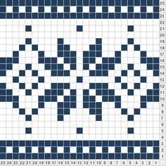 Snowflake - this would be a really cute bracelet. Knitting Stiches, Crochet Stitches Patterns, Knitting Charts, Stitch Patterns, Knitting Patterns, Fair Isle Chart, Fair Isle Pattern, Knitting Designs, Knitting Projects