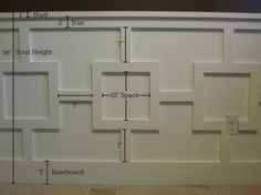 Box Pattern Board & Batten
