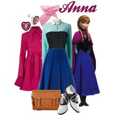 """Dapper Day 2014: Anna"" by bleeanco on Polyvore"