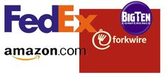 Subliminal Messages in Corporate Logos  You've probably noticed the arrow in the Fed-Ex logo - in case you missed it, it's right there between the 'E' and the 'X.