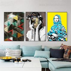 Stir up the excitement with beautiful and stunning human faces wall art set on canvas. We sell modern art prints worldwide! #artgallery #onlineart #artdecor #artseller 3 Piece Canvas Art, Canvas Art Prints, Wall Art Sets, Wall Art Decor, Online Art Store, Human Faces, Modern Frames, Modern Art Prints, Painting Frames