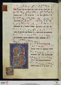 Cod. Sal. XI,10 Graduale — Salem, vor 1220