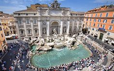 Seen - Fontana di Trevi Best Tourist Destinations, Places To Travel, Vacation Places, Italy Vacation, Rome Travel, Travel And Tourism, Travel Europe, Italy Travel, The Places Youll Go