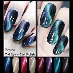 Zação Soak Off LED UV Unhas de Gel Lacquer Esmalte Magnético Permanente Polonês Gel Kit Manicure Gel Olho de Gato Uv Verniz Unha Polonês