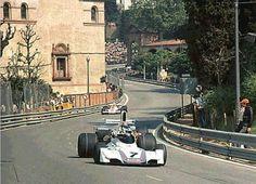 what we miss … public roads Carlos Reutemann, Martini Brabham-Ford BT44B, 1975 Spanish Grand Prix, Montjuic Park