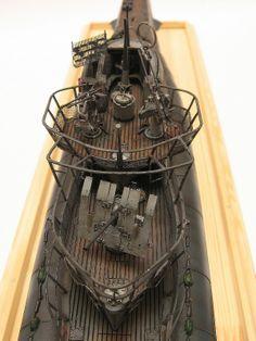 U-995 Typ VIIC/41 1/72 Scale Model