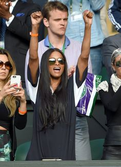 Pin for Later: We Played Spot the Celebrity Tennis Fan at Wimbledon Ciara