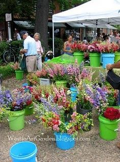 Spring farmers market