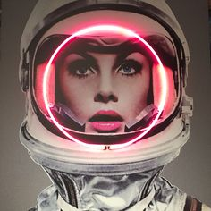 Neon astronaut. Neon Art//Neon LOVE!!!                                                                                                                                                                                 More