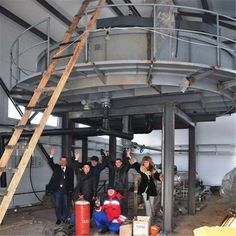 DAF air floatation in Russia watewater treatment plant