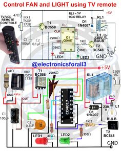 Pin on Electronics components Electronics Mini Projects, Hobby Electronics, Electrical Projects, Electronics Components, Home Electrical Wiring, Electrical Plan, Electrical Installation, Electronic Circuit Design, Electronic Engineering