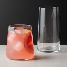 Shop Neat Double Old-Fashioned Glass. A clear choice for everyday glassware. Round, micro-thin barware with tapered sham holds drinks with cool simplicity. Priced right for multiples. Drinkware, Barware, Old Fashioned Glass, Highball Glass, Drink Dispenser, Bottle Stoppers, Dinnerware Sets, Crate And Barrel, Tea Pots