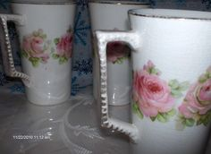 PRICE REDUCTION  Vintage Dresden China by DaisVintageTreasures, $35.00