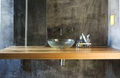 baño de hormigón - concrete bath