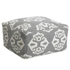 Interesting Pouf, I like the more modern look when it's a box vs a giant bean bag. Those remind me of the 90's in a bad way...