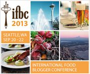 Off to Seattle for the 2013 International Food Bloggers Conference.