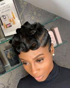 Short Relaxed Hairstyles, Black Women Short Hairstyles, Pixie Hairstyles, Short Hair Cuts, Anime Hairstyles, Stylish Hairstyles, Hairstyles Videos, Hairstyle Short, School Hairstyles