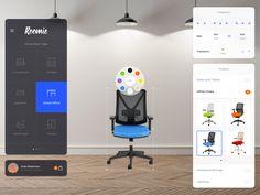 Design Your Room (Concept Update) by Ionut Zamfir - Dribbble App Ui Design, User Interface Design, Tablet Ui, Instagram Website, Ui Design Inspiration, Ui Web, Dashboards, Mobile Design, Make Design