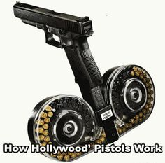 How Hollywood Pistols Work | Military Humor