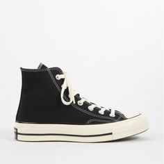 a65cb4318 Converse 1970s Chuck Taylor All Star Hi - Black ❤ liked on Polyvore  featuring shoes