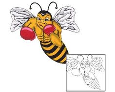 Show details for Insects Tattoo AZF-00004