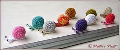 Natas Nest: Little Snails - Free Pattern - English version further down