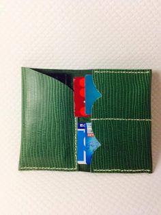 Leather Wallet and Iphone Cover van ASDERi op Etsy, €19.00