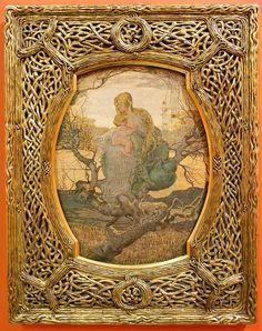 Giovanni Segantini: The Angel Of Life. 1894