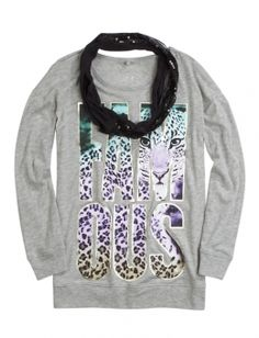 Sequin Scarf 2fer Tunic | Justice