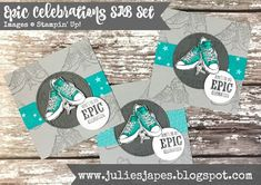 Julie Kettlewell - Stampin Up UK Independent Demonstrator - Order products 24/7: All Star Tutorial Bundle Blog Hop - February Some Ideas, Stamping Up, Baby Cards, Note Cards, All Star, Gift Tags, Cardmaking, Card Boxes, Card Crafts