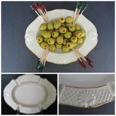 Having fun trying out some upcycling ideas for a mid century Lenox china ashtray. #renew #recycle #reuse #vintagelove
