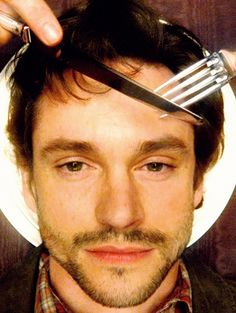 WG: Hannibal please... stop.  / HL: shh just one picture,  I want to know what it would look like / HG: *sigh*  OK just stop digging that fork in my head...