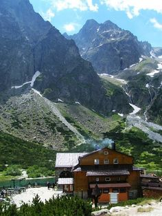 Zelene Pleso, High Tatras Mountains, Slovakia