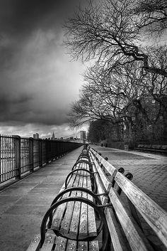 Brooklyn Heights Promenade - I love taking a stroll here with my husband.