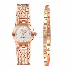 >> Click to Buy << Women's Fashion Dial Analog Quartz Wrist Watch Stainless Steel Bracelet Bangle #Affiliate