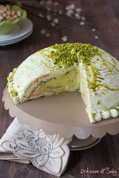 Wasc Cake Recipe, Torta Angel, Sweet Recipes, Cake Recipes, Pistachio Cake, Torte Cake, Cooking Cake, Christmas Cooking, What To Cook
