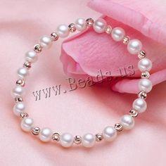Pulseras de Perlas Freshwater,  http://www.beads.us/es/producto/Pulseras-de-Perlas-Freshwater_p216318.html?Utm_rid=163955