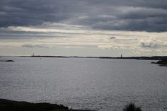 From Spornes you can look out to the Small and Large Torungen lighthous. Søndagsturen gikk ut til havet. Going Out, Sunday, Ocean, In This Moment, Beach, Pictures, Outdoor, Voyage, Photos