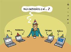 Life on line Benefits Of Laughter, Generation Gap, Spanish Memes, Humor Grafico, Social Issues, Satire, Funny Memes, Blog, Geek Stuff