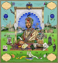 A Portrait of Maharaja Duleep Singh by The Singh Twins