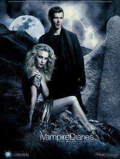 Klaus and Caroline - The Vampire Diaries - Klaroline- 1 by KCV80.deviantart.com on @deviantART