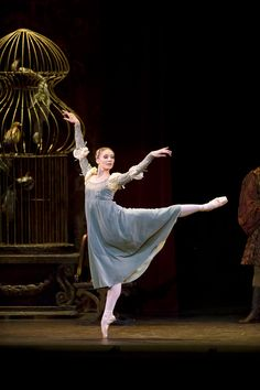 """Melissa Hamilton as Juliet in """"Romeo and Juliet"""" (Royal Ballet).  Photo by Bill Cooper"""