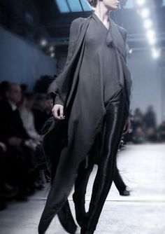 Gareth Pugh. I think I'd be content to wear nothing but minor variations of this look forever.